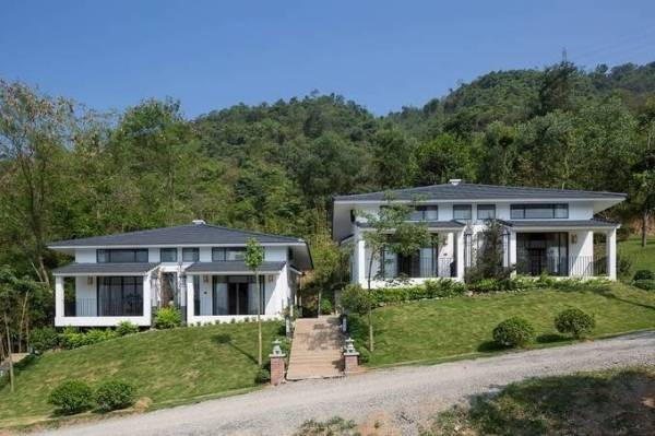 Ngôi nhà kiểu Nhật giữa lưng chừng núi Hòa Bình ảnh 1