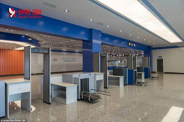 Sân bay 200 triệu đô từng là căn cứ quân sự của Triều Tiên ảnh 1