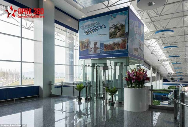 Sân bay 200 triệu đô từng là căn cứ quân sự của Triều Tiên ảnh 6