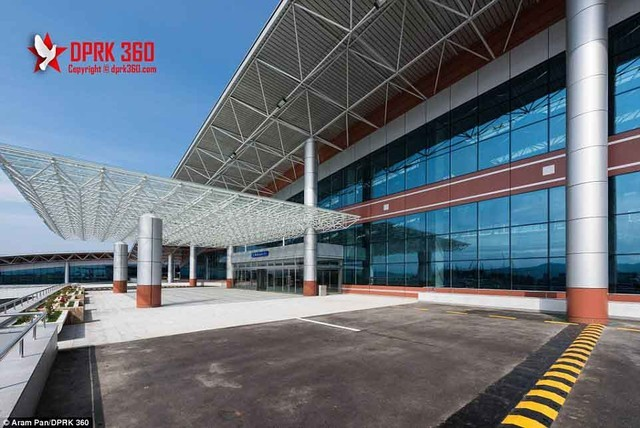 Sân bay 200 triệu đô từng là căn cứ quân sự của Triều Tiên ảnh 8