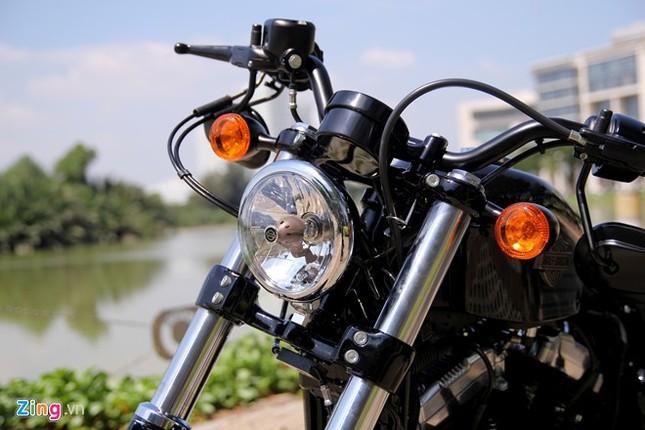 Chi tiết Harley Forty-Eight 2016 vừa ra mắt tại Việt Nam ảnh 2