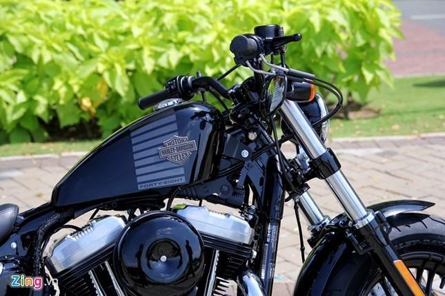 Chi tiết Harley Forty-Eight 2016 vừa ra mắt tại Việt Nam ảnh 4