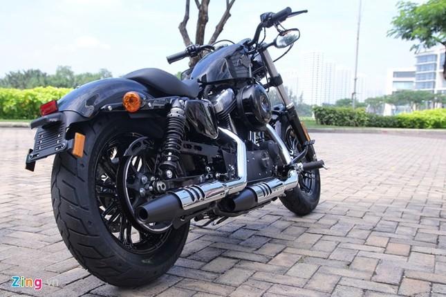 Chi tiết Harley Forty-Eight 2016 vừa ra mắt tại Việt Nam ảnh 12