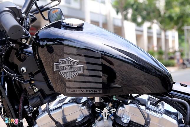 Chi tiết Harley Forty-Eight 2016 vừa ra mắt tại Việt Nam ảnh 1