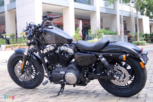 Chi tiết Harley Forty-Eight 2016 vừa ra mắt tại Việt Nam ảnh 6