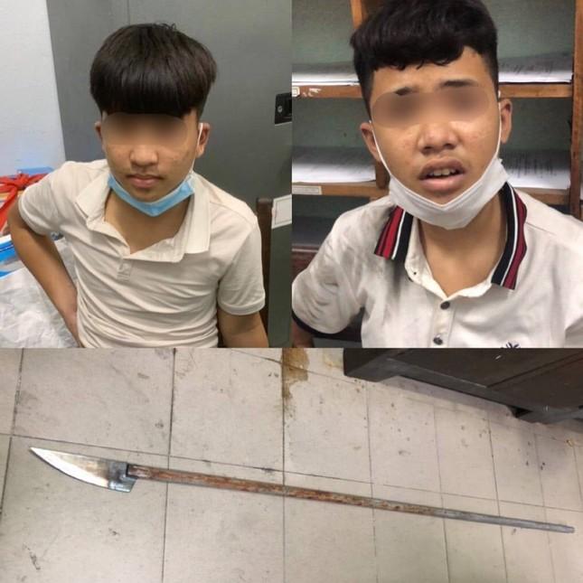 Đà Nẵng: Bắt nhóm thiếu niên mạnh động dùng dao tấn công lực lượng công an ảnh 1