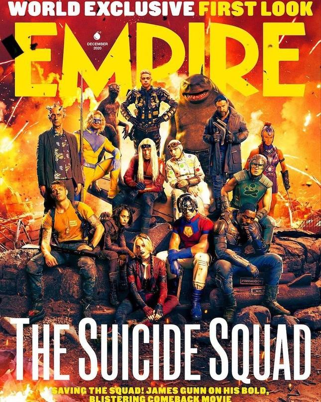 """""""The Suicide Squad"""" nhà DC chính thức trở lại cùng trailer dán nhãn đỏ cực máu lửa ảnh 1"""
