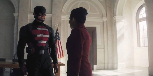 """""""The Falcon and the Winter Soldier"""" tập cuối: Captain America 2.0 chính thức ra đời! ảnh 5"""