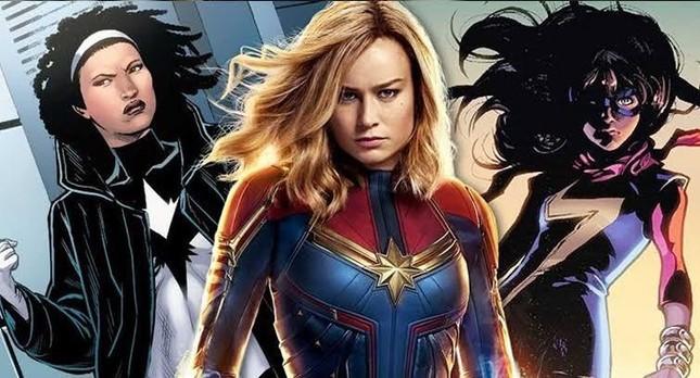Vũ trụ điện ảnh Marvel giai đoạn 4: Angelina Jolie đẹp hút hồn, có nhiều Captain Marvel? ảnh 6