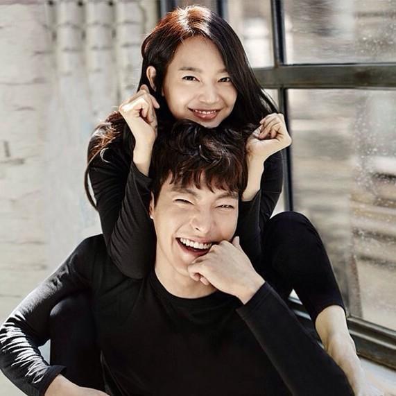 Kim Woo Bin và Shin Min Ah lần đầu đóng phim chung nhưng lại không được thành đôi? ảnh 1