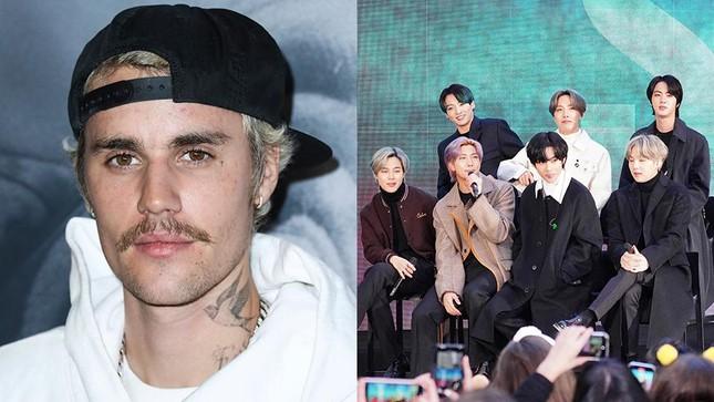 Không còn cover nhạc, Jungkook sắp có cơ hội song ca cùng thần tượng Justin Bieber? ảnh 1