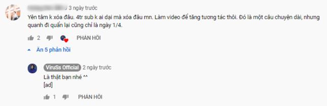 """""""Video cuối cùng"""" là từ khóa để một số hot YouTuber Việt thu hút người xem? ảnh 3"""