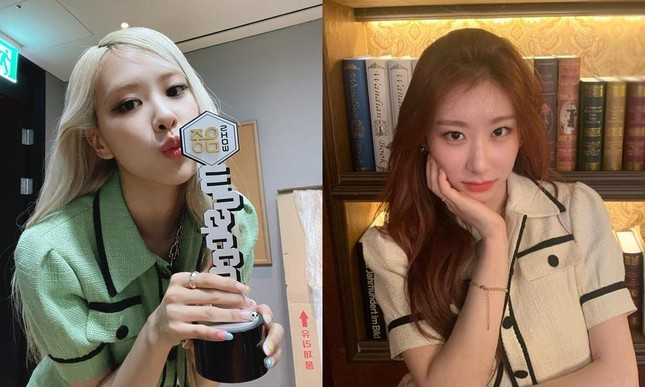 Đụng hàng từ trang phục đến kiểu tóc nhưng vì sao Rosé ghi điểm hơn Chaeryeong (ITZY)? ảnh 7