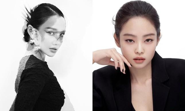 """Hết đụng hàng dây buộc tóc Chanel, Nhã Phương lại trùng tạo hình """"nữ tổng tài"""" với Jennie ảnh 7"""