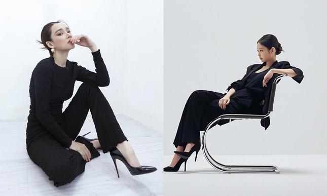 """Hết đụng hàng dây buộc tóc Chanel, Nhã Phương lại trùng tạo hình """"nữ tổng tài"""" với Jennie ảnh 8"""