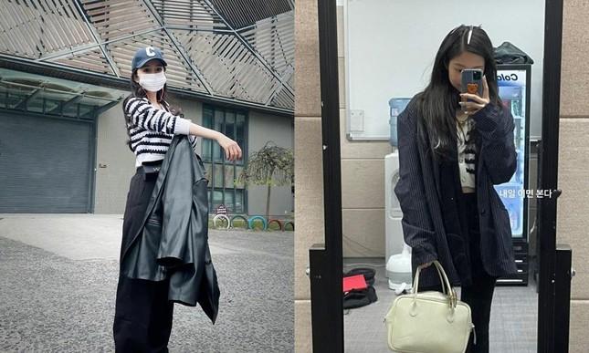 """Vừa đổi style ăn mặc, Dương Mịch đã vướng nghi vấn """"sao chép"""" Jennie (BLACKPINK) ảnh 6"""