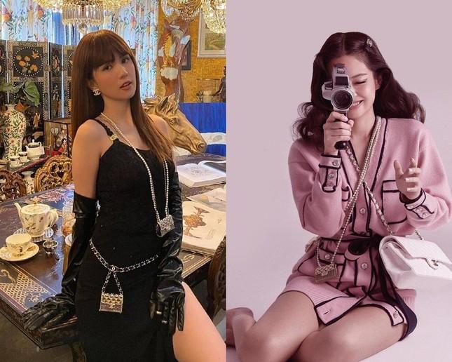 """""""Bắt trend"""" BLACKPINK cực nhanh nhưng Ngọc Trinh vẫn bị netizen trừ điểm thần thái ảnh 7"""