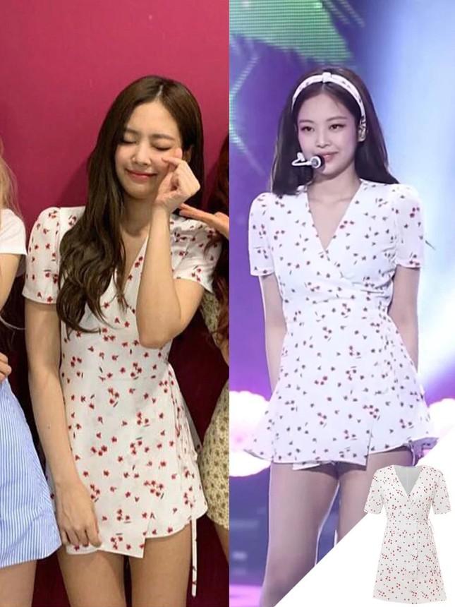 Đừng bao giờ nghĩ váy hoa dễ mặc: Sành điệu như Jennie cũng có lần mất điểm ảnh 2