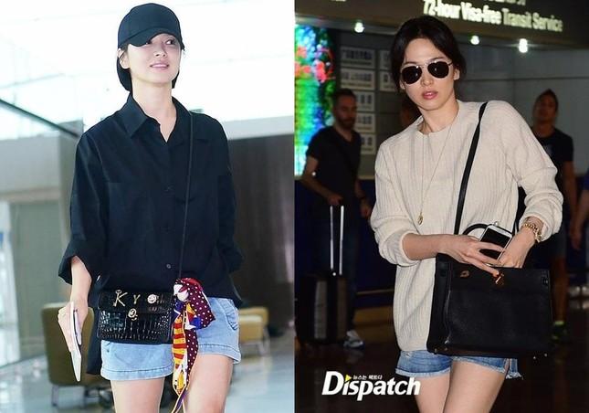 """Song Hye Kyo vướng ồn ào trang phục: Phong cách giản dị hay """"Siêu giàu siêu tiết kiệm""""? ảnh 1"""