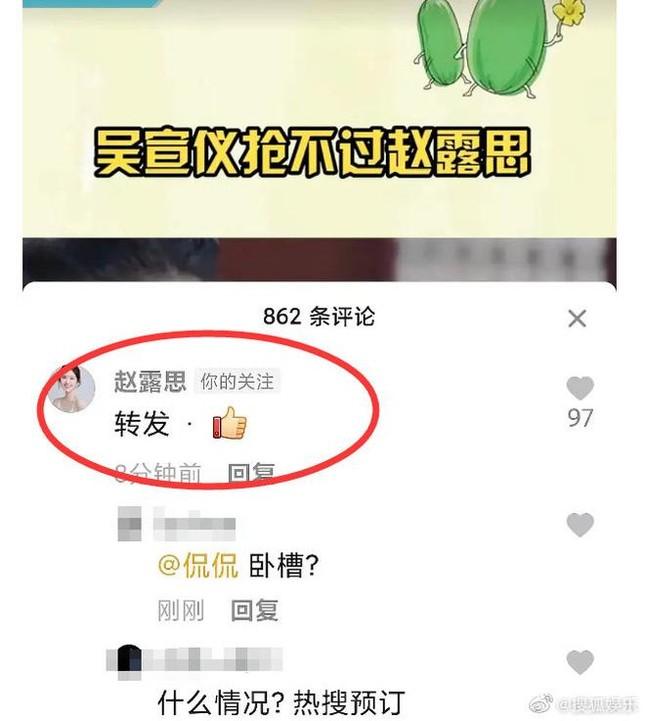 """Triệu Lộ Tư liên tiếp """"cọ nhiệt"""" đồng nghiệp, nguyên nhân đưa ra khiến netizen cạn lời  ảnh 3"""