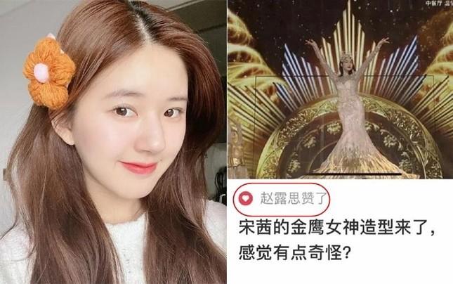 """Triệu Lộ Tư liên tiếp """"cọ nhiệt"""" đồng nghiệp, nguyên nhân đưa ra khiến netizen cạn lời  ảnh 2"""