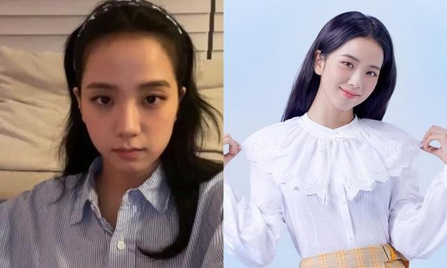 Người ta xinh lên vài phần khi đổi dáng lông mày, riêng Jisoo lại giảm phong độ nhan sắc ảnh 7