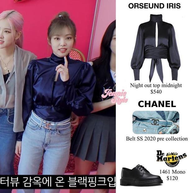 Jennie đúng chuẩn cao thủ diện bra: Hở cả áo chíp vẫn được khen sành điệu ảnh 8