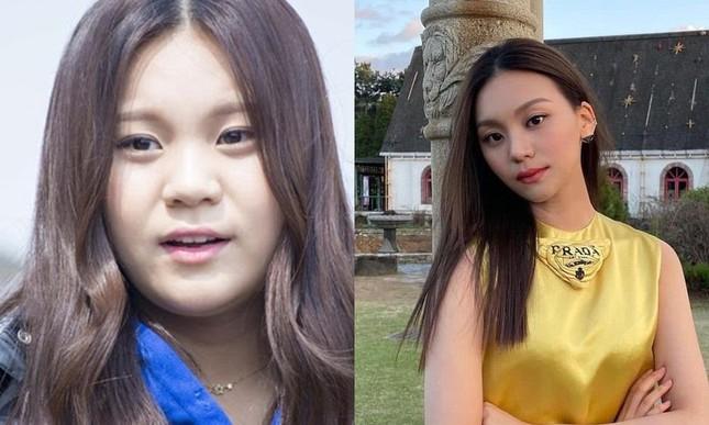 """Không thể ngờ đổi kiểu dáng lông mày lại giúp """"nữ idol xấu nhất K-Pop"""" xinh đẹp lộng lẫy ảnh 8"""
