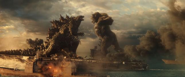 Godzilla và King Kong đối đầu khốc liệt trong trailer mới: Quái vật nào mạnh hơn? ảnh 1