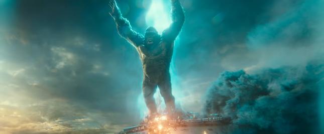 Godzilla và King Kong đối đầu khốc liệt trong trailer mới: Quái vật nào mạnh hơn? ảnh 3