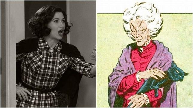 """""""WandaVision"""" tập 7: Sư mẫu của Scarlet Witch hiện nguyên hình, nhưng có phải là """"trùm cuối""""? ảnh 9"""
