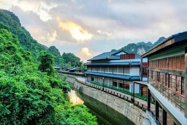"""Khu suối khoáng Onsen """"độc nhất vô nhị"""" ở Việt Nam: Đẹp và xịn như Nhật Bản, vừa mở đã kín ảnh 1"""