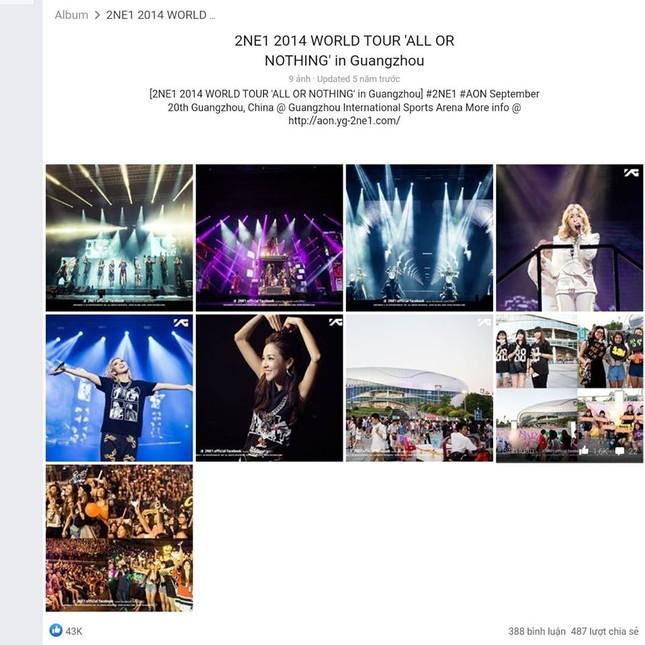 YG lại dính phốt: Fan 2NE1 tố không tôn trọng thành viên, xóa ảnh Park Bom khỏi album nhóm ảnh 3