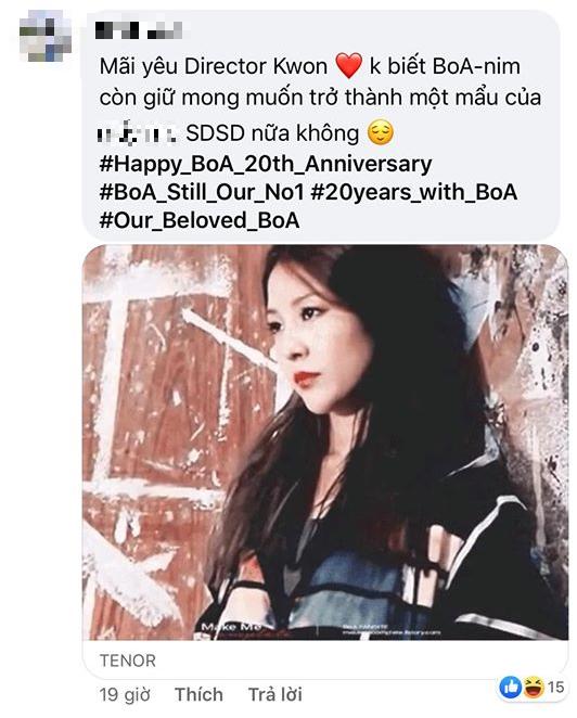 """Kỷ niệm 20 năm ca hát, SM đăng loạt ảnh """"công chúa"""" BoA kèm hashtag đầy tự hào ảnh 9"""