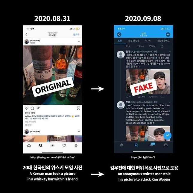 Công ty chủ quản của Woojin lên tiếng sau loạt phốt quấy rối, lập công ty ma giả danh ảnh 2