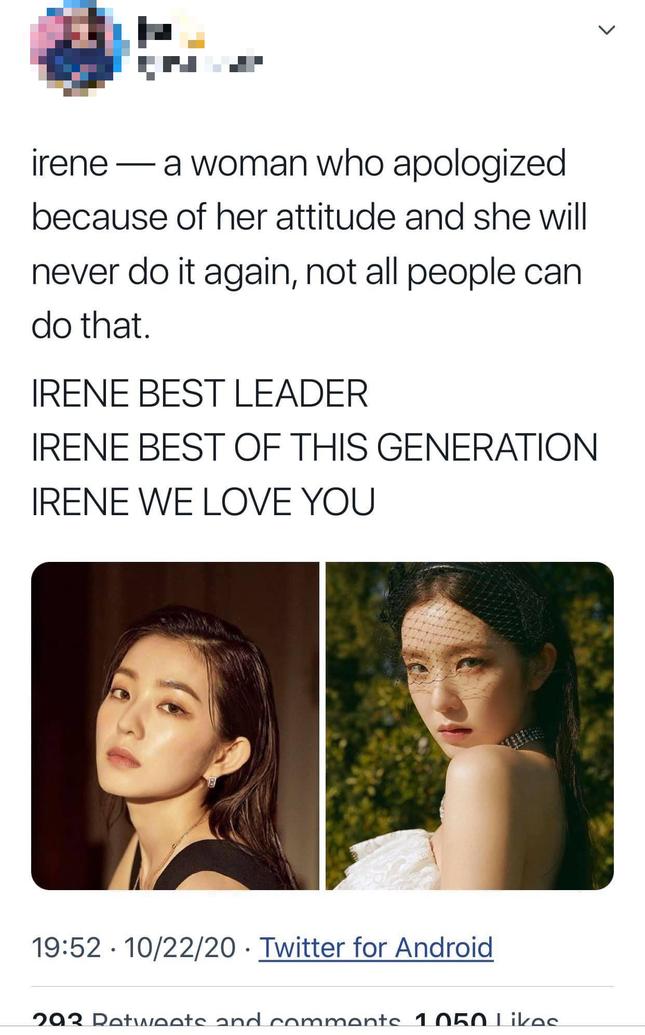 Cuộc chiến của fan quốc tế và netizen Hàn còn nóng hơn cả scandal lăng mạ của Irene ảnh 4