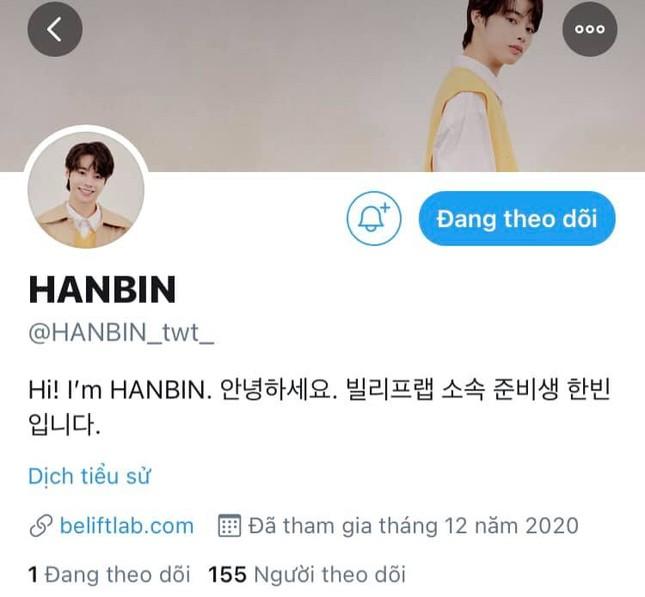Vừa được mở tài khoản Twitter, Hanbin khoe ngay ảnh luyện tập cho sân khấu pre-debut ảnh 1