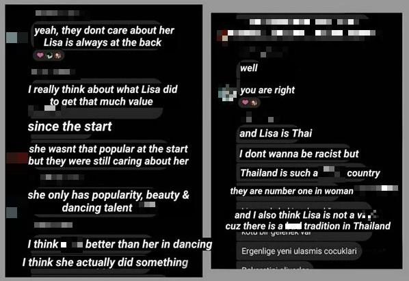 Group chat của fan Trung gây phẫn nộ vì nội dung miệt thị, phân biệt chủng tộc với Lisa BLACKPINK ảnh 4