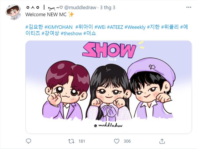 """Netizen không ngừng """"thả tim"""" cho bộ 3 MC mới toanh của """"The Show"""" ảnh 3"""