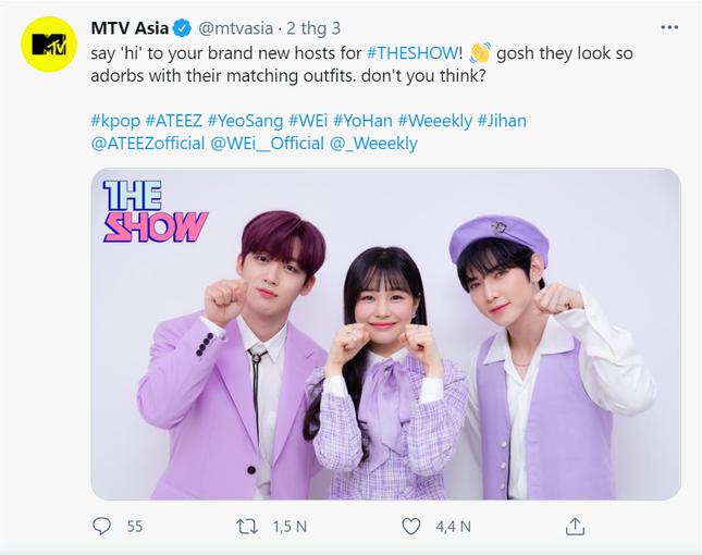 """Netizen không ngừng """"thả tim"""" cho bộ 3 MC mới toanh của """"The Show"""" ảnh 2"""