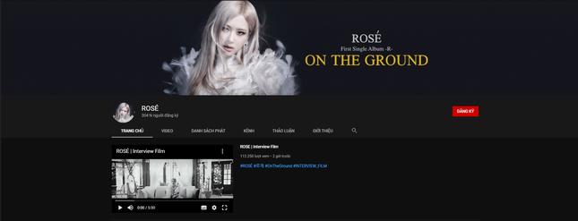 Rosé (BLACKPINK) lập kênh YouTube cá nhân, các BLINKs nhanh chóng gọi tên chị cả Jisoo ảnh 1