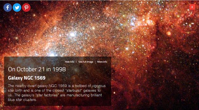 Làm gì khi ở nhà: Khám phá vũ trụ trông như thế nào vào ngày sinh của bạn ảnh 2