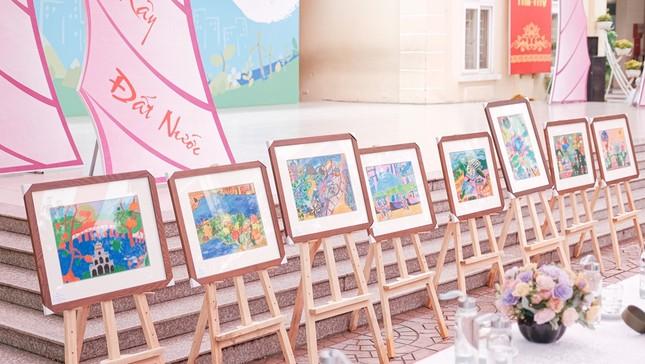 Hàng nghìn học sinh Hà Nội trổ tài vẽ tranh để truyền tải ước mơ về thành phố xanh ảnh 1