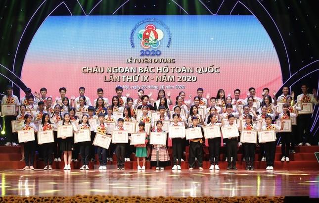 344 đại biểu xuất sắc nhận bằng khen tại Đại hội Cháu ngoan Bác Hồ toàn quốc lần thứ IX  ảnh 4