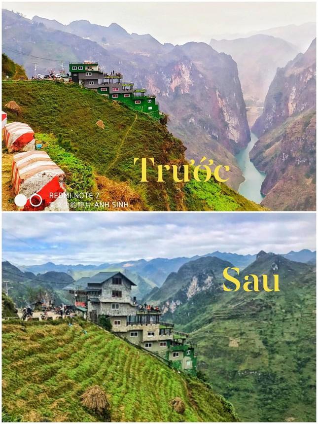 Tại sao diện mạo mới của Panorama Mã Pí Lèng (Hà Giang) khiến dân mạng tranh cãi gay gắt? ảnh 1