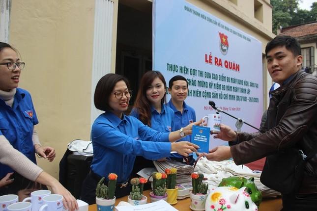 """Các đơn vị Đoàn TNCS Hồ Chí Minh tích cực hưởng ứng """"Ngày thứ bảy tình nguyện"""" ảnh 5"""