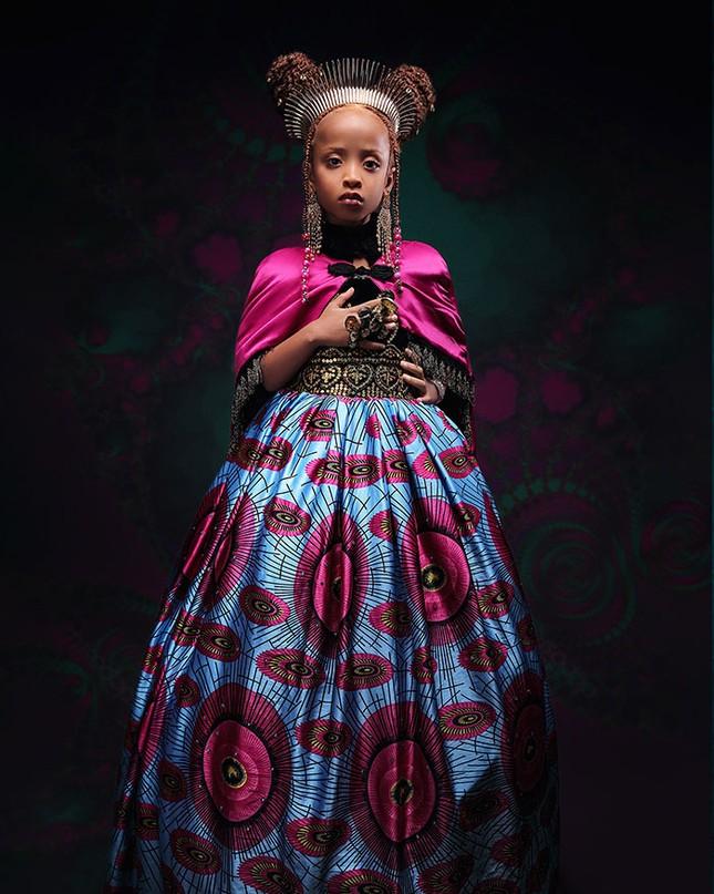 """Bộ ảnh tuyệt đẹp của các nàng công chúa Disney đến từ """"vương quốc Wakanda"""" ảnh 1"""