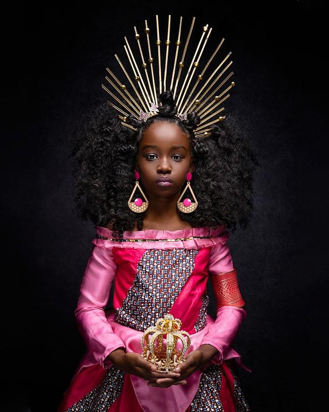 """Bộ ảnh tuyệt đẹp của các nàng công chúa Disney đến từ """"vương quốc Wakanda"""" ảnh 2"""
