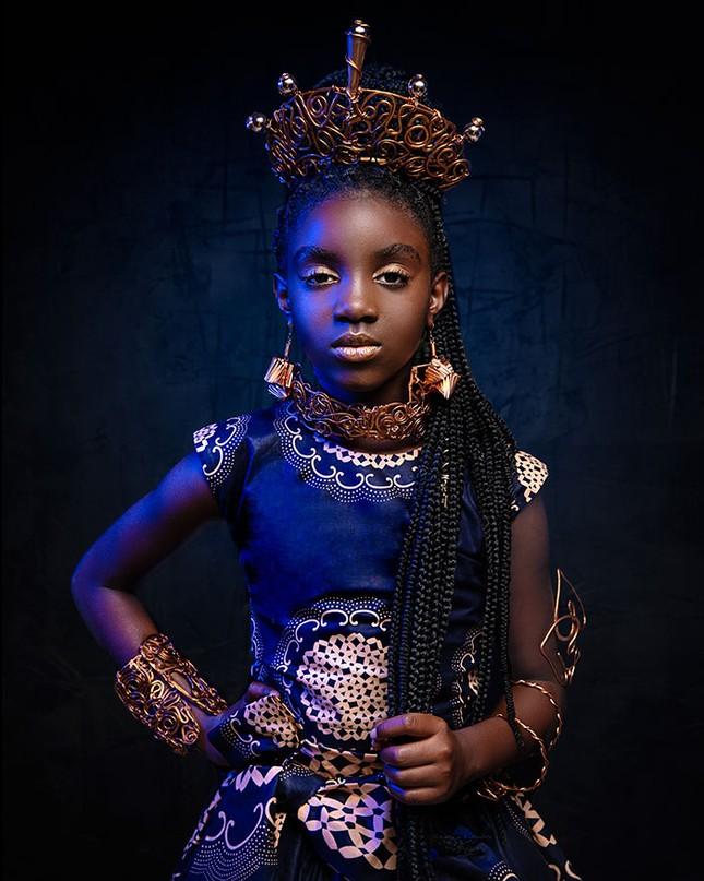 """Bộ ảnh tuyệt đẹp của các nàng công chúa Disney đến từ """"vương quốc Wakanda"""" ảnh 3"""