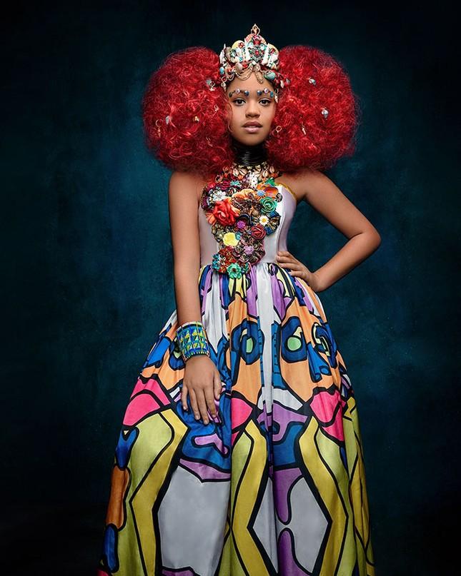 """Bộ ảnh tuyệt đẹp của các nàng công chúa Disney đến từ """"vương quốc Wakanda"""" ảnh 5"""